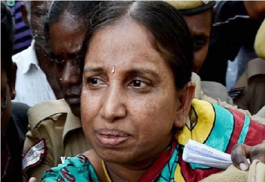 راجیو گاندھی کے قتل کی مجرم ایس-نلینی کو ایک مہینے کی پیرول ملی