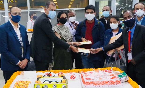 حیدرآباد- لندن ایئر انڈیا کی پہلی پرواز آر جی آئی اے سے روانہ