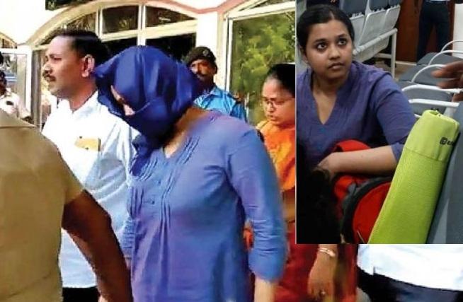 بی جے پی پارٹی کے خلاف نعرے بازی کرنے پر خاتون گرفتار