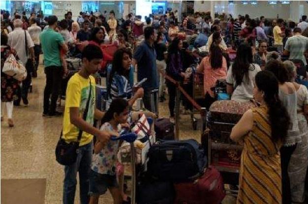 سافٹ ویئر میں خرابی کے سبب ایئر انڈیا کی خدمات چھ گھنٹے تک متاثر