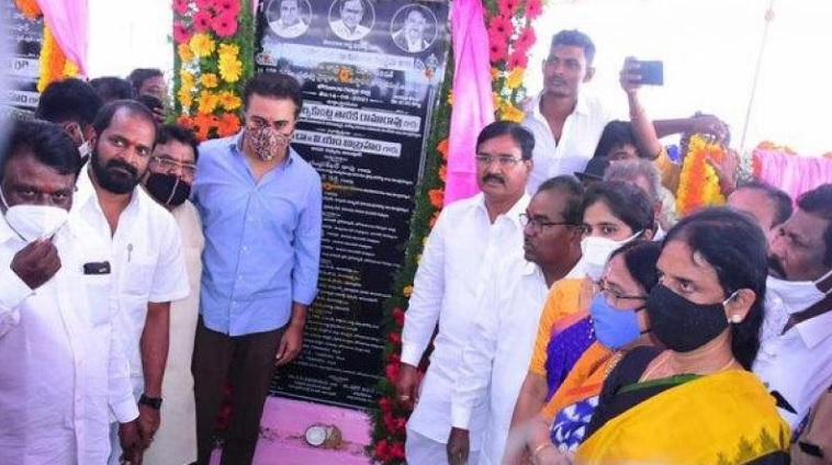 تلنگانہ کے وزیرآئی ٹی تارک راما راو نے عالم پور میں 100بستروں والے اسپتال کا سنگ بنیاد رکھا