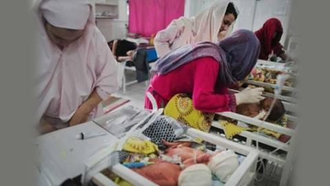 افغانستان کے ایک اسپتال میں 12 نوزائیدہ بچوں کی موت