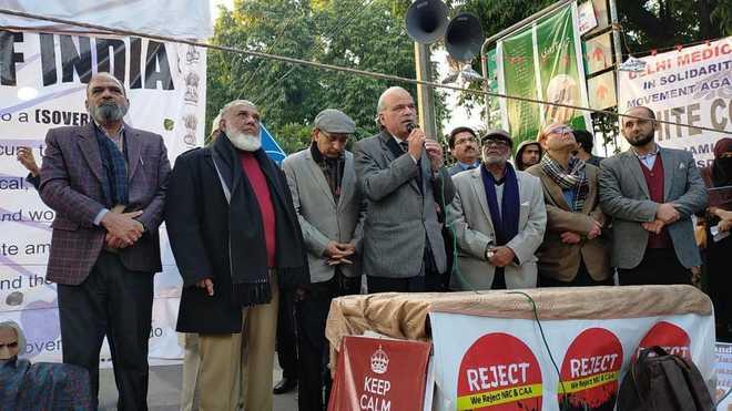 سی اے اے، این آر سی اور این پی آر کے خلاف شاہین باغ خاتون مظاہرین کی تحریک کے ساتھ انڈیا اسلامک کلچرل سنٹر کی اظہار یکجہتی