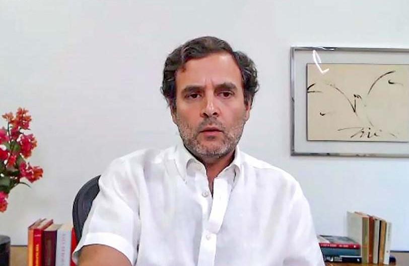 راہل گاندھی کاحکومت سےمنریگا اور'نیائے'کے نفاذ کا مطالبہ
