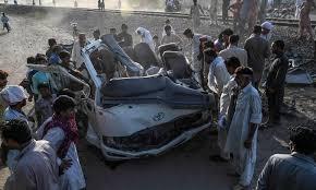 پاکستان ٹرین حادثہ: ہلاکتوں کی تعداد 22 ہوگئی