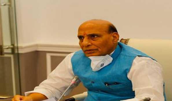 لداخ تعطل: راجناتھ نے سیکورٹی صورتحال کا جائزہ لیا