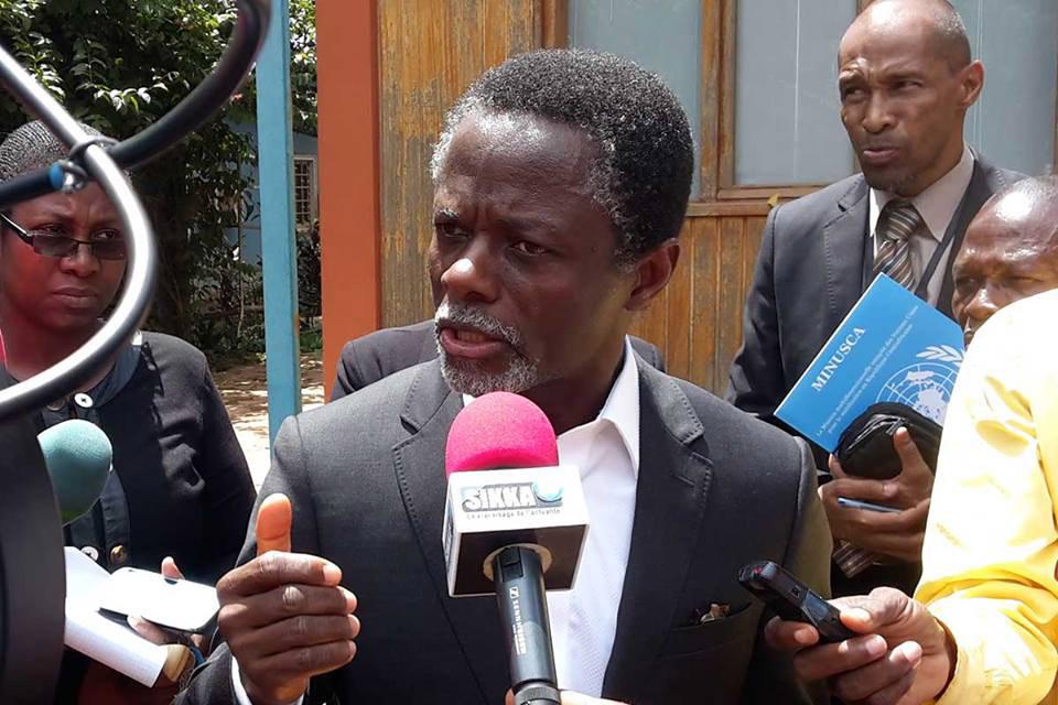 فال وسطی افریقہ میں اقوام متحدہ کے خصوصی نمائندہ مقرر