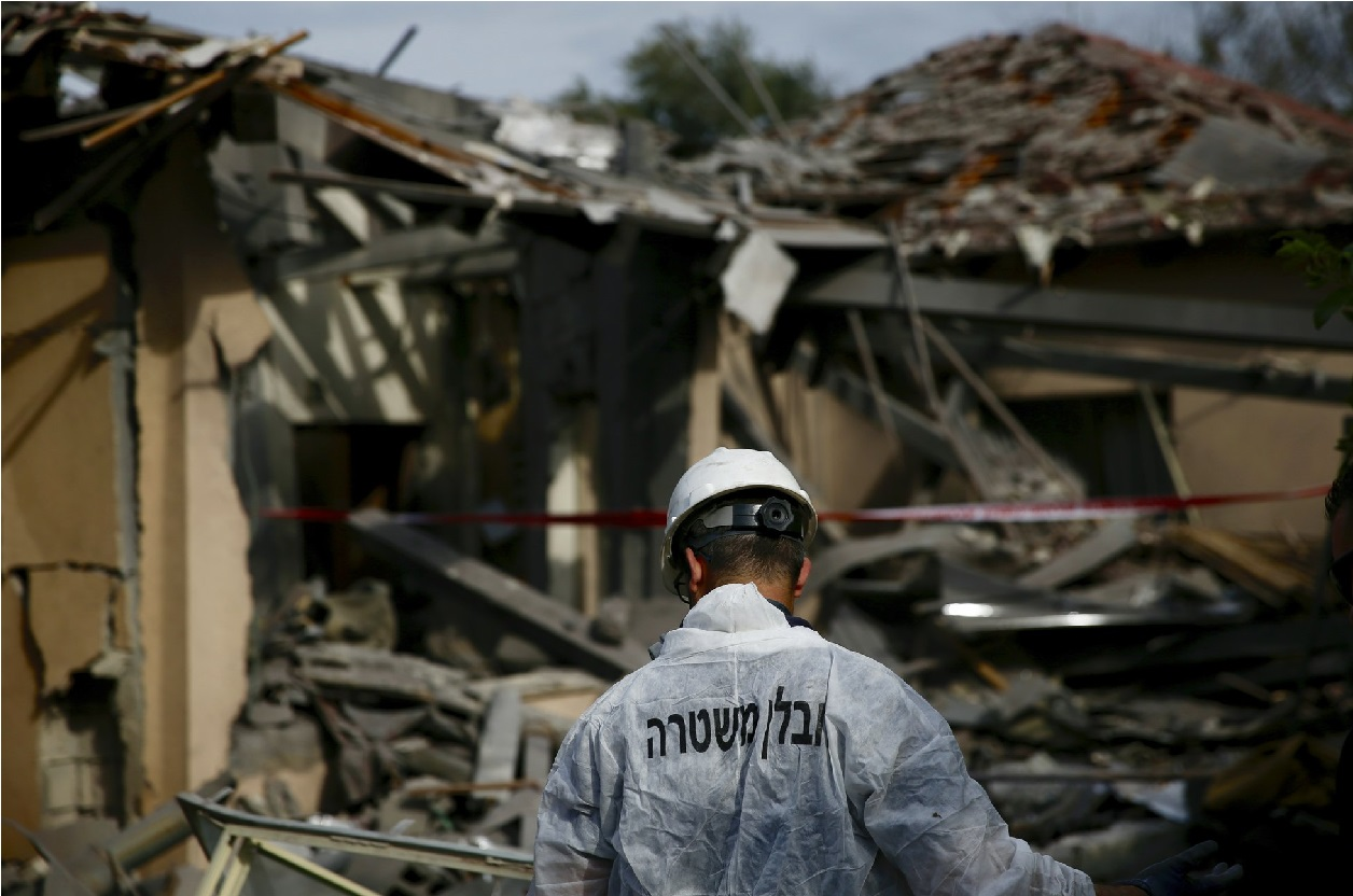 اسرائیل میں راکٹ سے حملہ میں چھ زخمی