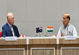 ہندوستان پورے خطے کی سلامتی کے لیے آسٹریلیا کے ساتھ مضبوط شراکت داری کے تئیں پرعزم: راج ناتھ