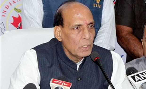 حکومت بدعنوانی سے پاک نظام کی مہم چلارہی ہے: راج ناتھ