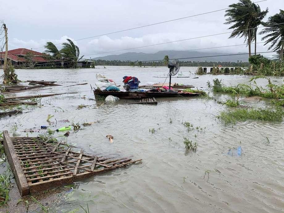 فلپائن میں گردابی طوفان مولاوے سے 9 افراد ہلاک، 6 زخمی
