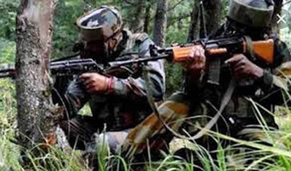 سری نگر: تصادم میں حزب المجاہدین کے 2 جنگجو ہلاک، 2 سکیورٹی فورسز اہلکار زخمی