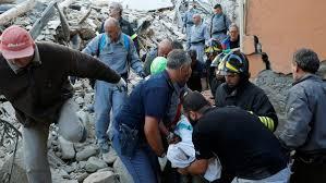 اٹلی میں زلزلے سے 159 افراد ہلاک