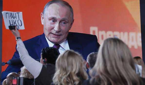 پوتن کی پریس کانفرنس میں غیر ملکی صحافی شامل ہوں گے