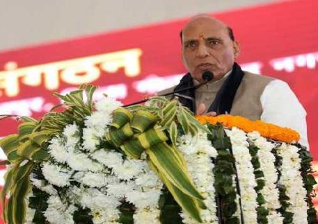 مودی سے ڈر کر عظیم اتحاد کی تشکیل: راجناتھ