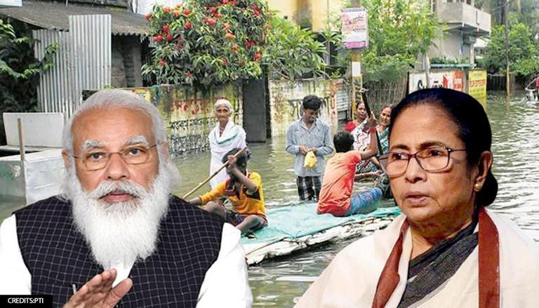 بنگال میں سیلاب کی صورت حال ،وزیرا عظم نریندر مودی نے ممتا بنرجی سے فون پر بات کی