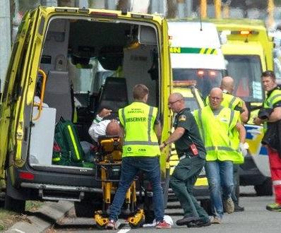 کرائسٹ چرچ حملے میں دو ہندوستانی زخمی، پانچ لاپتہ