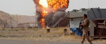 عراق میں تیل سے مالا مال کرکک پر اسلامک اسٹیٹ کے حملے میں 35 افراد ہلاک