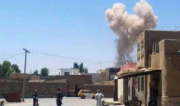 قندھار میں پولنگ مرکز پر دھماکہ میں 16زخمی