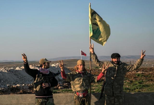 ترکی کی حمایت یافتہ باغیوں نے شامی شہر دابق پر قبضہ کیا