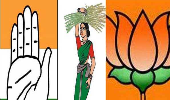 کرناٹک کے لوک سبھا اور اسمبلی کے ضمنی انتخابات میں کانگریس -جے ڈی ایس کی جیت،بی جےپی کو ملی ایک سیٹ