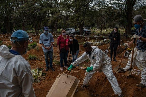 برازیل میں کرونا سے 70000 سے زیادہ افراد ہلاک
