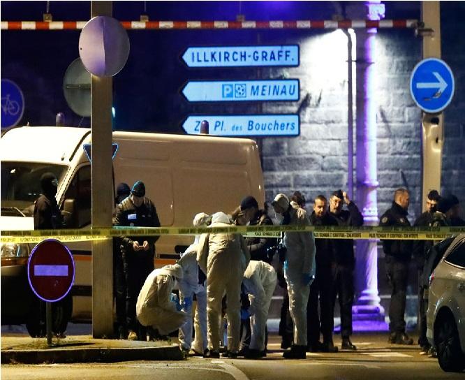 فرانس : اسٹراس برگ کرسمس مارکیٹ کا حملہ آور ہلاک