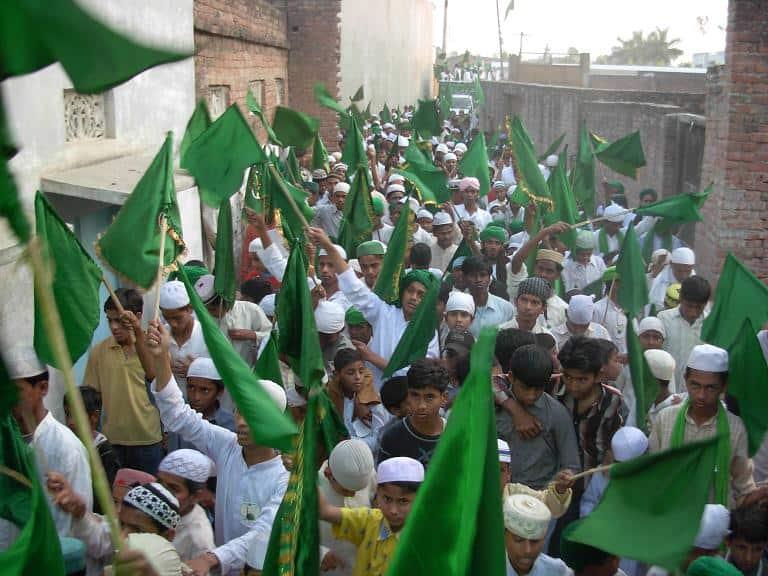 ممبئی میں جلو س عید میلاد النبی صلی اللہ علیہ وسلم کے لئے اجازت کے بعد تیاریاں شروع