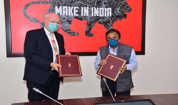 ہندوستان اور ڈنمارک نے دانشورانہ املاک کے شعبے میں معاہدہ کیا