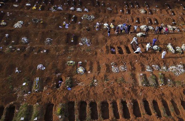 برازیل میں کورونا کے کیسز 17 لاکھ سے تجاوز