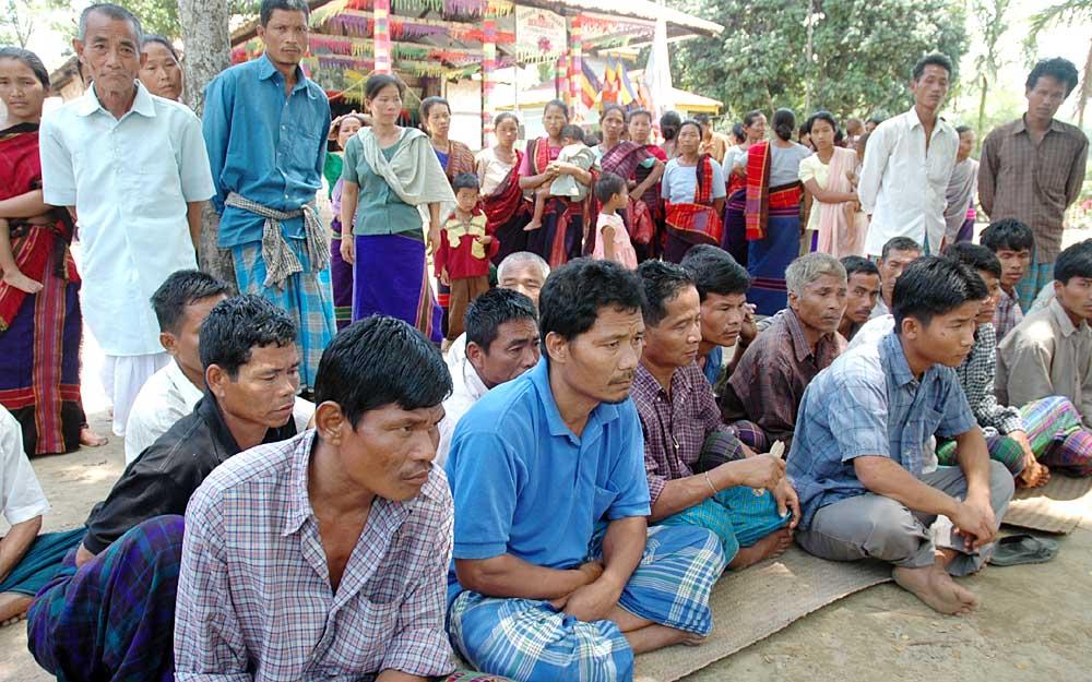 چکما پناہ گزینوں کی حکومت سے مداخلت کی اپیل