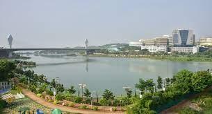 حمڈا نے حیدرآباد کی 20جھیلوں کو خوب صورت بنانے کا کام شروع کیا