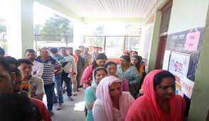 جھارکھنڈ میں تیسرے مرحلہ کی ووٹنگ ختم ، 61.93 فیصد پولنگ