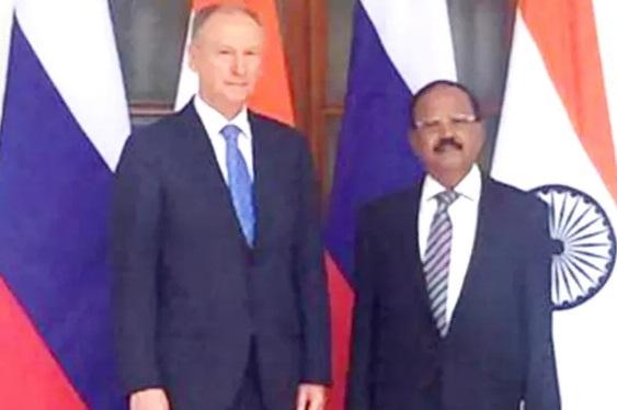 ڈوبھال اور روسی سکیورٹی چیف نے افغانستان پر تبادلہ خیال کیا