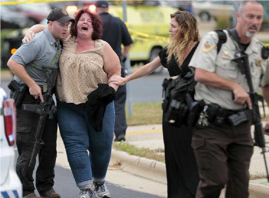 امریکی ریاست وسکانسن میں فائرنگ ، 3 زخمی، حملہ آور ہلاک