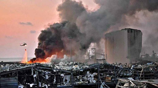 لبنان کے دارالحکومت بیروت میں خوفناک دھماکہ میں 78 افراد ہلاک