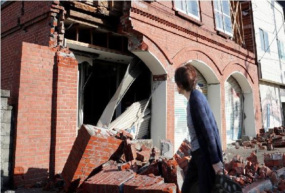 جاپان میں زلزلہ سے چار کی موت، 120 زخمی، 33 لاپتہ