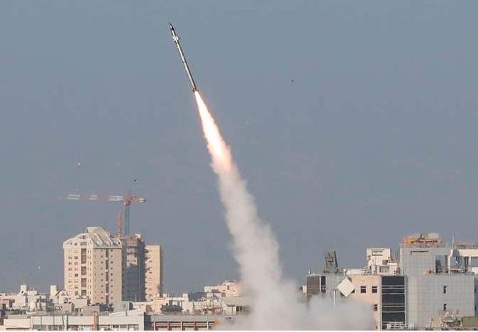 غزہ میں داغی گئیں دو میزائلیں تباہ:اسرائیلی فوج