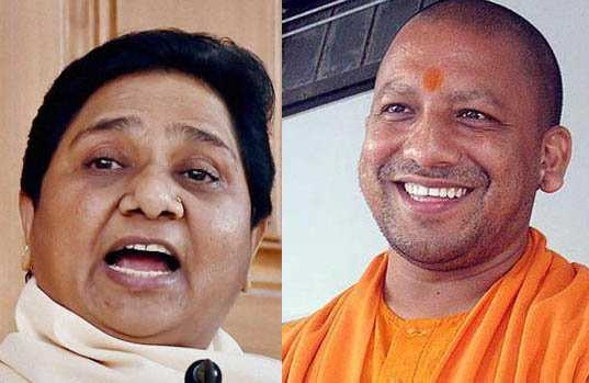 یوگی اور مایاوتی کے انتخابی مہم میں حصہ لینے پر پابندی