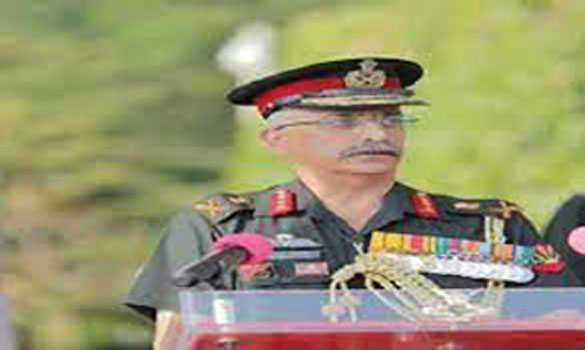 جنرل نرونے کا سری لنکا میں جنگی یادگار پر امن فوج کے کے شہیدوں کو خراج عقیدت