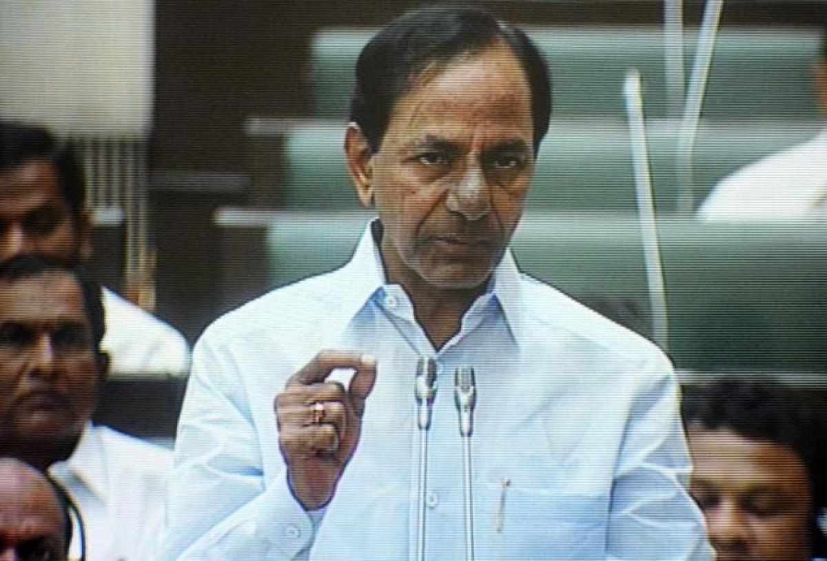 تلنگانہ کے وزیراعلی نے اسمبلی میں سی ایل پی لیڈرپر برہمی کا اظہارکیا