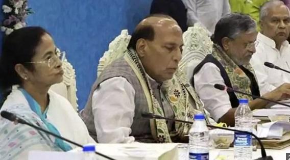 مشرقی علاقوں کی سکیورٹی کے سلسلے میں راج ناتھ کی صدارت میں میٹنگ