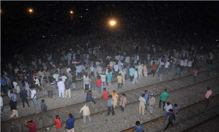 """امرتسر ریل حادثہ: ریلوے نے رپورٹ میں کہا، """"لوگوں کی لاپرواہی کی وجہ سے ہوا حادثہ"""""""