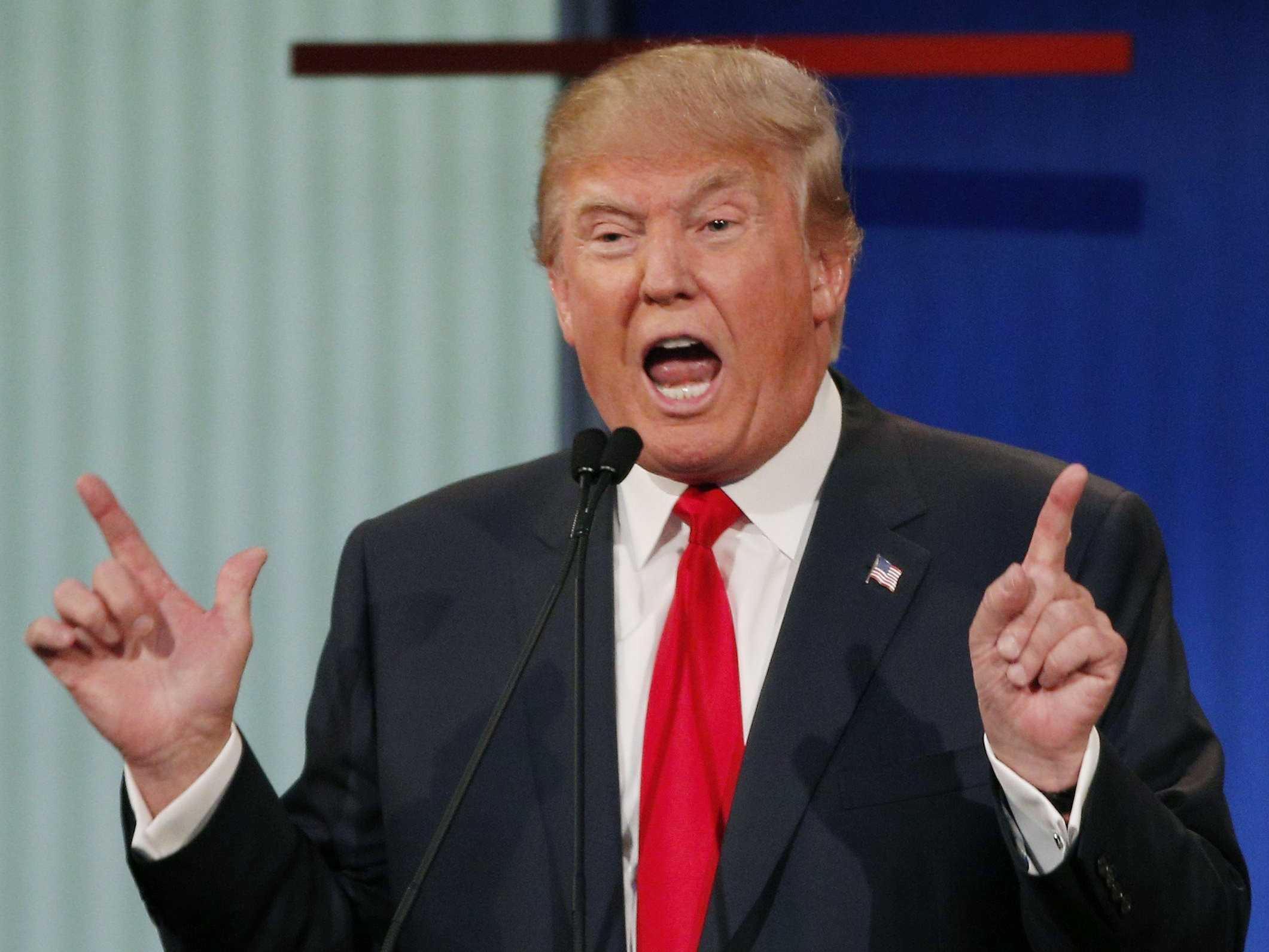 اوباما اور ہلیری دولتِ اسلامیہ کے بانی ہیں: ٹرمپ