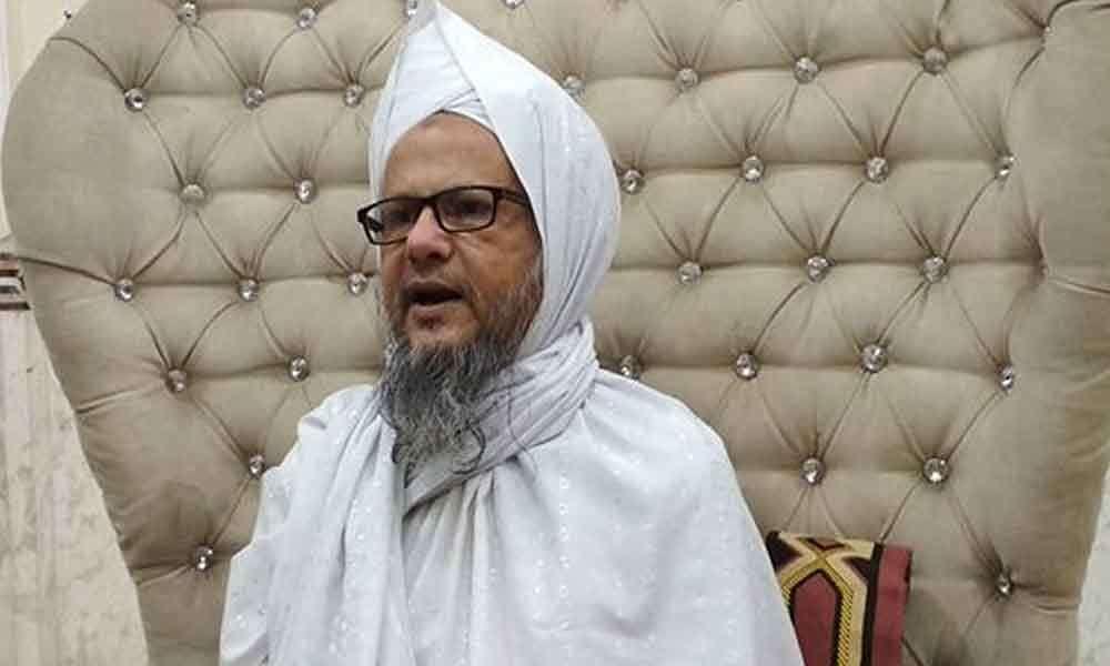 امیش دیوگن کی فوری گرفتاری اورمقدمہ چلانے مولانا جعفر پاشاہ کا مطالبہ