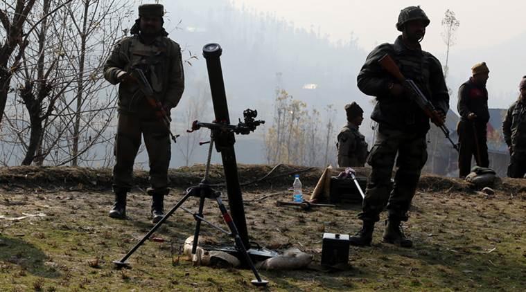 راجوری کے نوشیرا سیکٹرمیں کنٹرول لائن پر پاکستان کی طرف سے زبردست فائرنگ