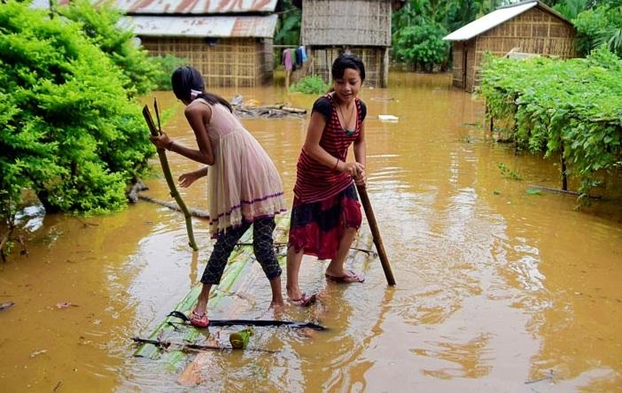 بہار میں سیلاب میں پھنسے سوالاکھ لوگوں کو بحفاظت نکال لیا گیا: نتیش