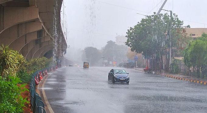 تلنگانہ اور اے پی میں 20ستمبر کو شدید بارش کاامکان