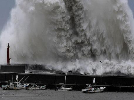 سمندری طوفان سے جاپان میں چھ لوگوں کی موت