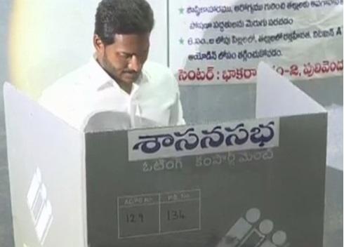 نڈر ہو کر اپنے ووٹر اپنا ووٹ کا استعمال کریں، وائی ایس جگن